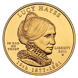 Lucy Hayes first Spouse gold The Coin Analyst: First Spouse Series Update