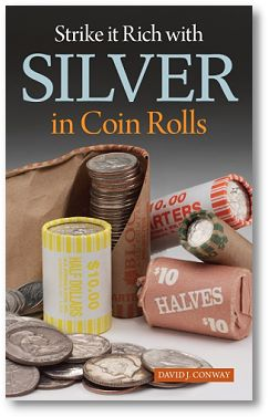 SilverRolls Strike it Rich With New Coin Roll Hunting Book