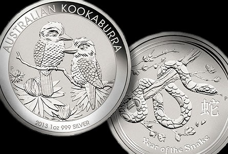 The Coin Analyst: 2013 Bullion Coin Designs Released by Perth and Canadian Mints