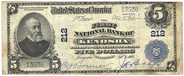 nbn2 The Civil War and the National Banking System   The Birth of National Bank Notes