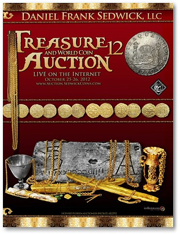 Daniel Frank Sedwick Treasure and World Coin Auction #12