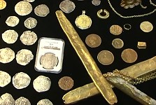 Daniel Frank Sedwick Upcoming Auction for Treasure Coins and Artifacts