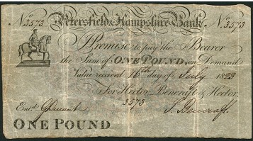 spink pound Exclusively English   Largest Collection of Provincial Banknotes to Come on to the Market
