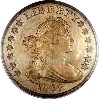 1802 Greensboro dollar Coin Rarities & Related Topics: First Part of Greensboro Collection Sells in Dallas