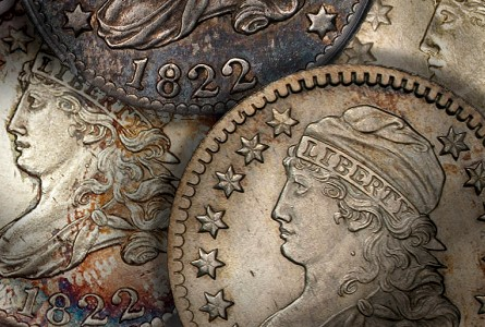 Coin Rarities & Related Topics: Dimes of 1822