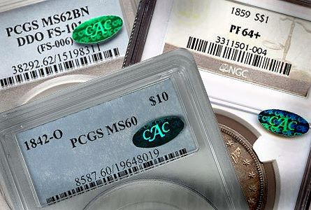 cac holders group Coin Rarities & Related Topics: Choosing Grades, for Beginning & Intermediate Collectors