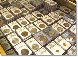 coin slabs Are Coin Shows on the Decline?
