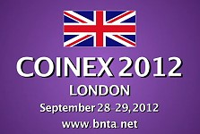 coinex 2012 COINEX 2012 and the British Numismatic Trade Association: Video