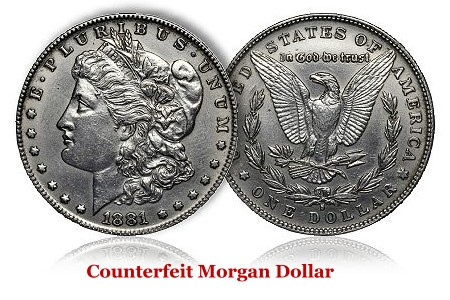Rare Coin Counterfeiting - Morgan Dollars