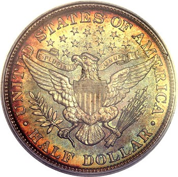 gr 1904 50c b Coin Rarities & Related Topics: Philadelphia Mint Barber Half Dollars of 1904