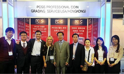 pcgs asia korea PCGS At Korea Money Fair   Praised By Collectors And Dealers