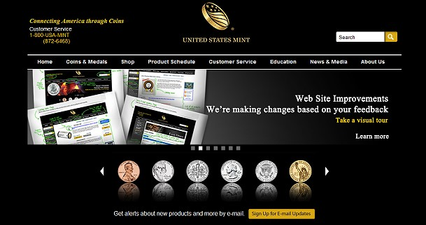 usmint site The Coin Analyst: Modern U.S. Coin Update
