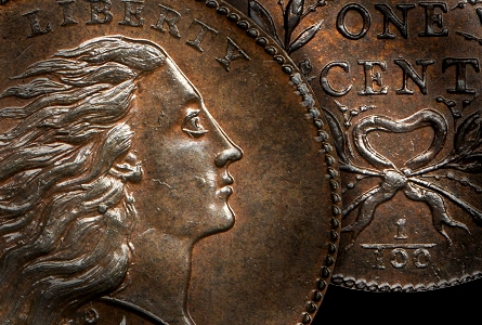 Stacks Bowers Galleries To Auction MS-69 1793 Wreath Cent