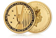 Goldline Offers Uncirculated Gold Coin Commemorating American-Australian Alliance During WWII