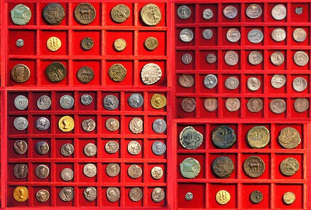 ancient coins trays1 Stacks Bowers and Ponterio to Present the Robert O. Ebert Collection at their Official NYINC Auction