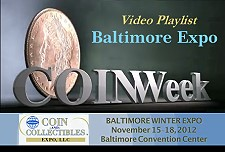 balt video playlist Video Playlist: Whitman Baltimore Coin Expo November 2012