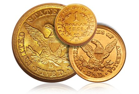 dahlonega gold dw How to Collect Dahlonega Gold Coins