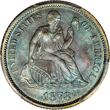 gr lsd 1878 Coin Rarities & Related Topics: Commentary on Liberty Seated Dimes in Rarities Night