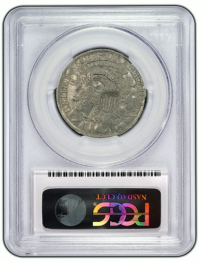 j44a rev Unique Pattern 1814 Platinum Half Dollar Certified by PCGS