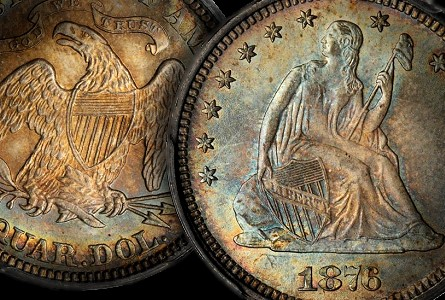 Coin Rarities & Related Topics: Quarters of 1876, including a fabulous one in the news!