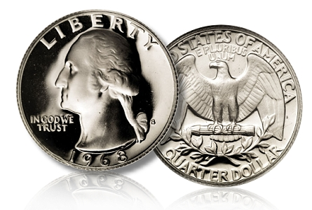 1968 s 25c prdcam Five Modern Coins You Should Be Looking for Right Now