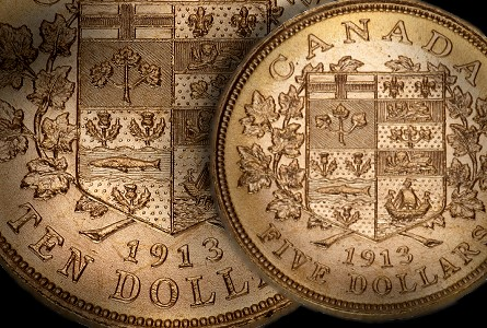 Royal Canadian Mint Offers Rare Opportunity to Own Canada's First Gold Coins From 1912-1914