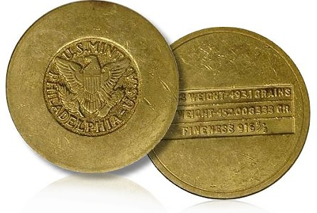 Unusual Items: US Mint 'Gold Disks' Made for Oil Payments to Saudi Arabia