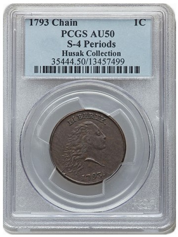 fun13 1793 1c Coin Rarities & Related Topics: Large Cents, Silver Coins, and more, in the FUN Platinum Night Event