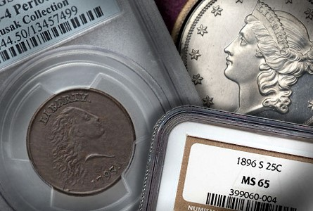 Coin Rarities & Related Topics: Large Cents, Silver Coins, and more, in the FUN Platinum Night Event