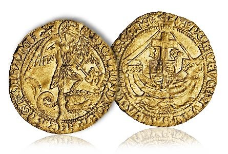 richard3 coin King Richard III, Battle of Bosworth Field