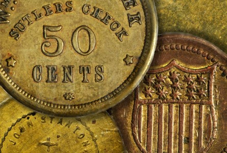 sutlers tokens Stack's Bowers to auction the Raymond Bunt Collection of Civil War Sutler Tokens