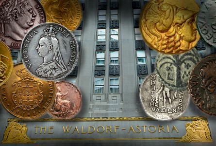 waldorf New York International Numismatic Convention Announces Final Plans