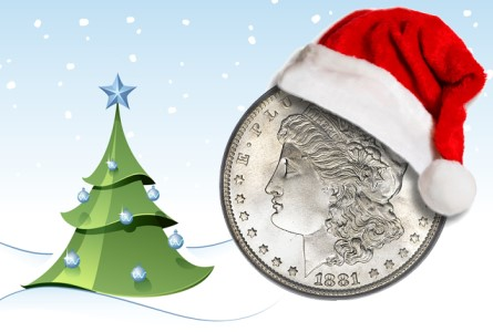 USA Coin Album: Coin Ghosts of Christmas Past
