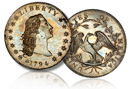 Coin Rarities & Related Topics: Incredible 1794 Silver Dollar To be Auctioned