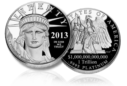 The Curious Case Of The One Trillion Dollar Coin