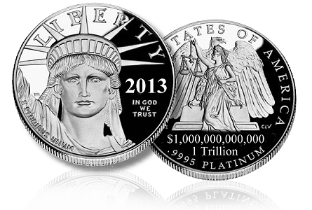 1 trillion coin1 The Curious Case Of The One Trillion Dollar Coin