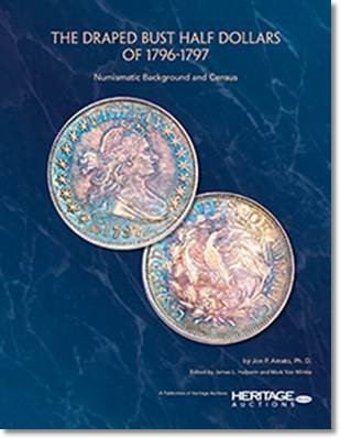 book draped bust half dollars New Book: The Draped Bust Half Dollars of 1796 1797, by Jon Amato