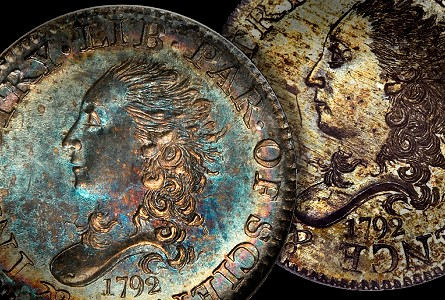 card star half disme thumb Coin Rarities & Related Topics: 1792 Half Dimes, Part 2: Amazing Pieces to be Auctioned