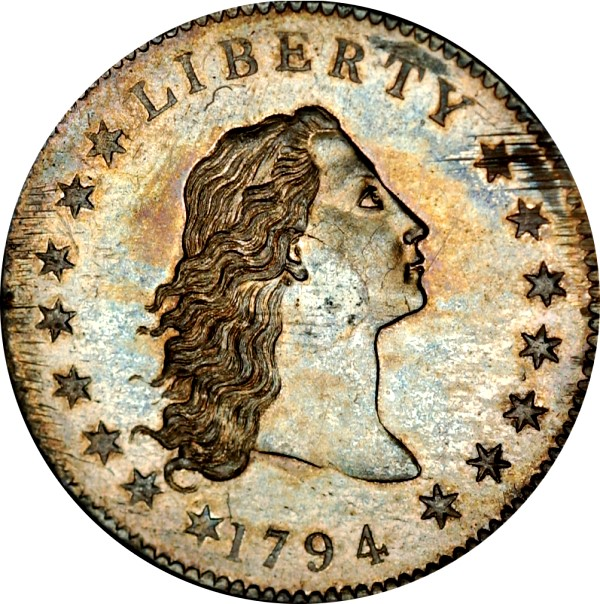 carter 1794 dollar obv 600 Coin Rarities & Related Topics: Incredible 1794 Silver Dollar To be Auctioned