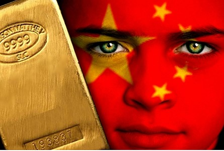 china gold face2 Gold Holding Steady as Chinese Demand Slows, Stronger Rupee