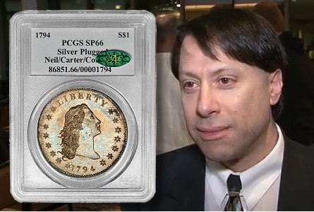 Video: 1794 Silver Dollar Breaks $10 Million Auction Record