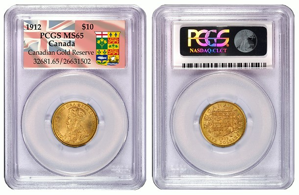 pcgs canadian insert Special PCGS Inserts Now Available For Historic Canadian Hoard Gold Coins