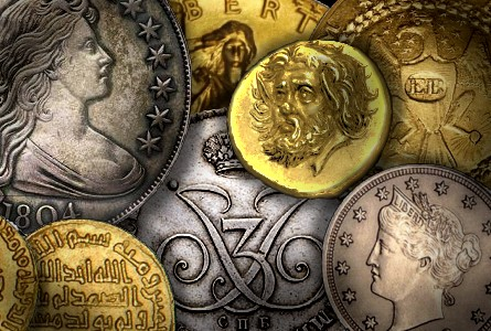 top 10 most val thumb Coin Rarities & Related Topics: The Top Ten Auction Records for Coins & Patterns
