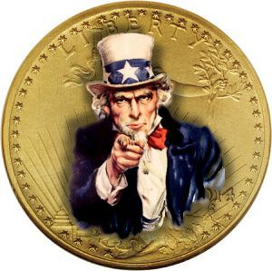 uncle sam coin Campaign Against Gold Has Failed Says Central Bank Think Tank
