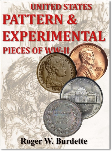 burdette book New Books: United States Pattern & Experimental Pieces of WWII By Roger W. Burdette