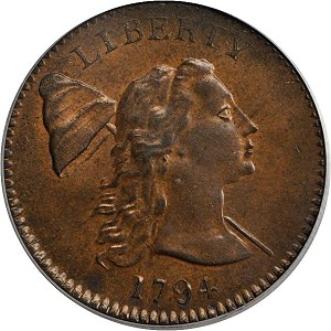 card4 Coin Rarities & Related Topics: Cardinal Collection Results, Part 1: 1792 to 1794