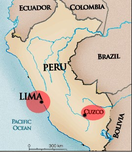 cob map Collecting Peruvian Gold Cobs