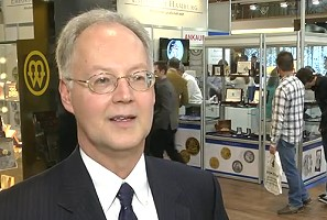 dave harper1 Krause Editor David Harper Talks about World Money Fair & International Coin Market. VIDEO: 2:43.