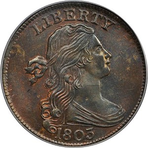 gr3 Coin Rarities & Related Topics: Cardinal Collection Results, Part 2: Draped Bust Large Cents