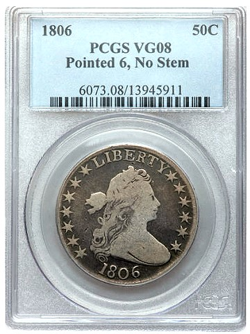 gr 20 1 Coin Rarities & Related Topics: Classic U.S. coins for less than $250 each, Part 2   Half Dollars & Silver Dollars